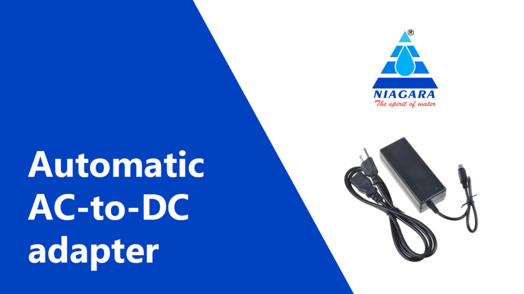 Automatic AC-to-DC adapter
