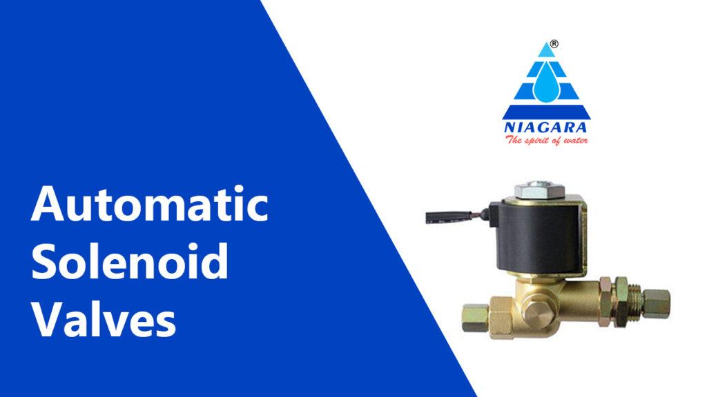 Automatic solenoid valves